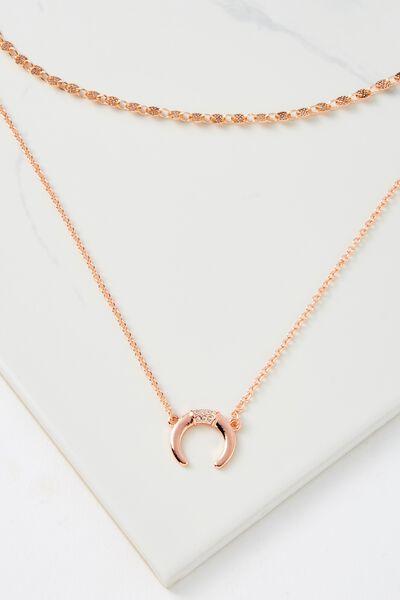 Santiago Necklace, ROSE GOLD