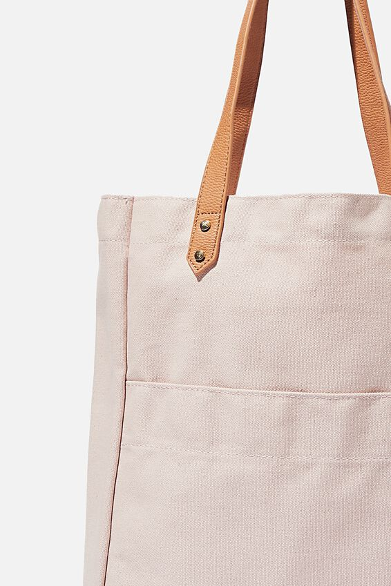 Olive Carryall Tote Bag, SOFT ORCHID