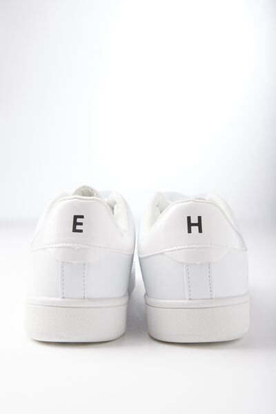 Personalised Cathryn Sneaker, WHITE