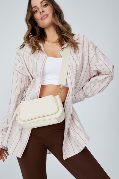 Nadine Cross Body Bag, BUTTER