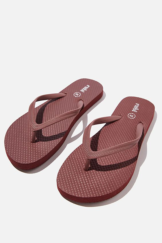 The Rubi Flip Flop, WINE