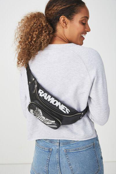 Casey Large Belt Bag, LCN RAMONES