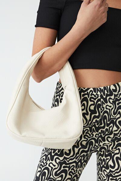 Stassi Slouch Shoulder Bag, BUTTERMILK