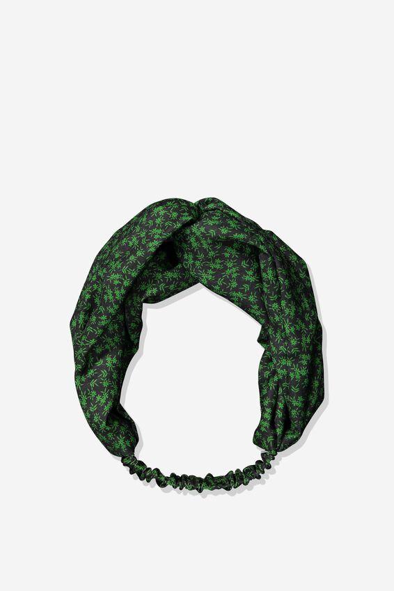 Manhattan Headband, GREEN CARRIE DITSY FLORAL