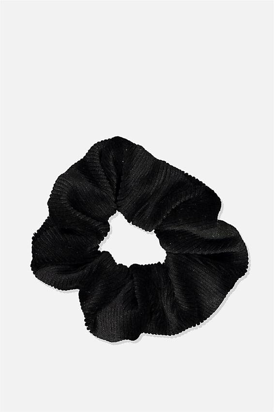So Me Scrunchie, BLACK MINI CORD
