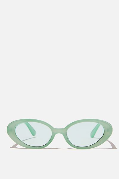 Hazel Sunglasses, MINT CRYSTAL
