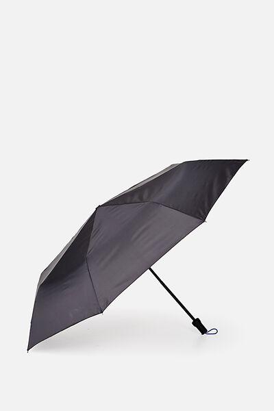 Ella Medium Umbrella, BLACK