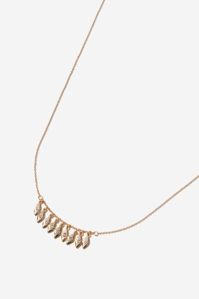 Cyrus Mystic Necklace, GOLD