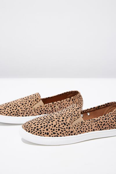 Holly Slip On, HAZEL OCELOT PRINT