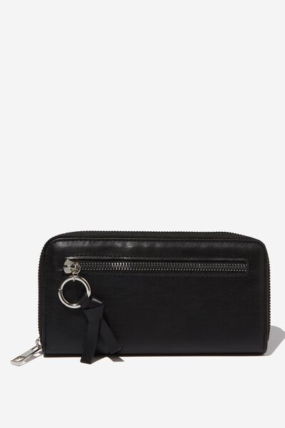 Keep The Change Wallet, BLACK