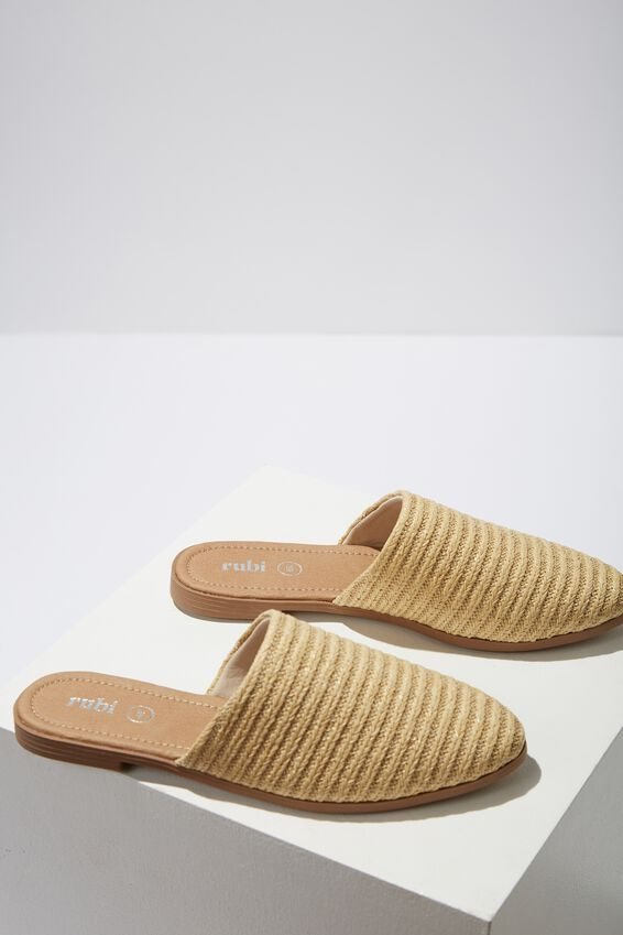 Charlotte Soft Mule, NEUTRAL WOVEN