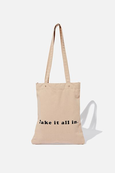 Take It All In Tote, BLUSH