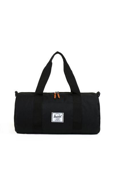 Herschel Sutton Mid-Volume Duffle Bag, BLACK