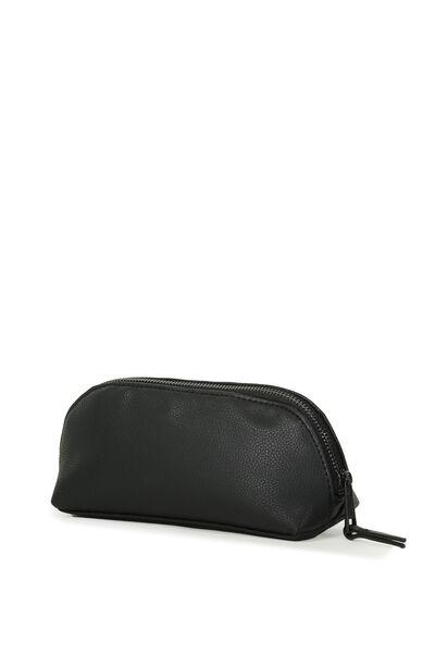 Manhatten Pencil Case, BLACK/BLACK