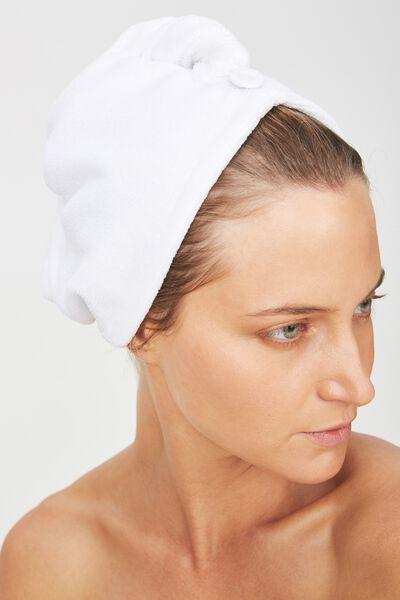 Body Home Spa | Hair Wrap, WHITE