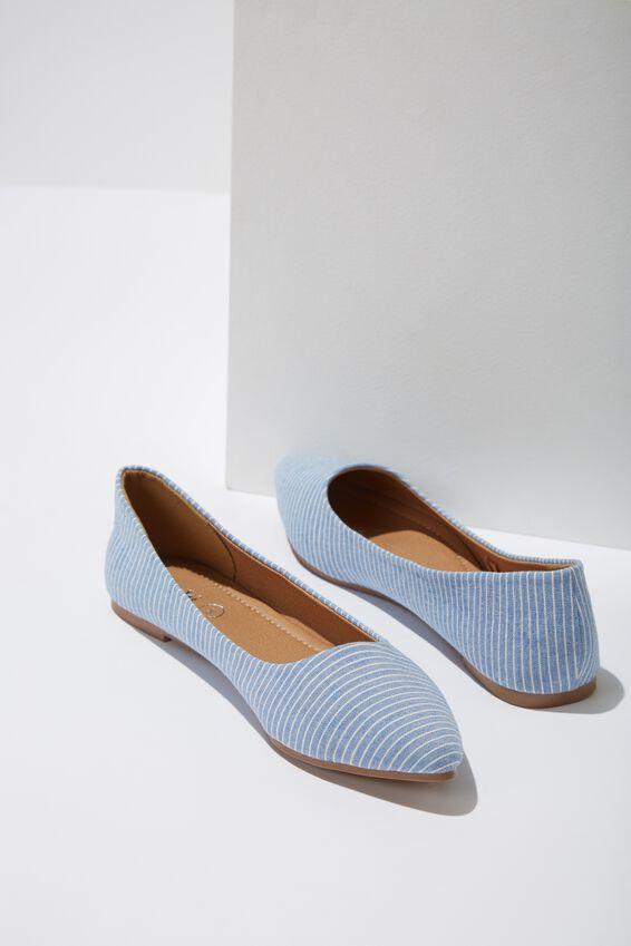 Primo Point, BLUE/WHITE STRIPE