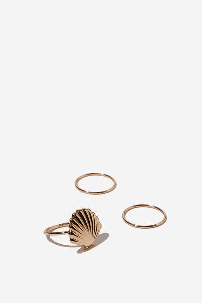 Bora Bora Ring, GOLD