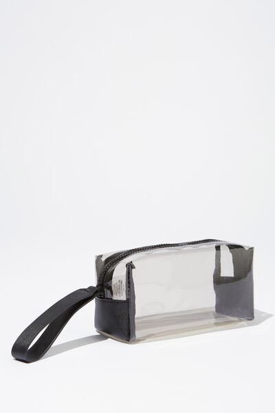 Day To Day Cosmetic Case, BLACK