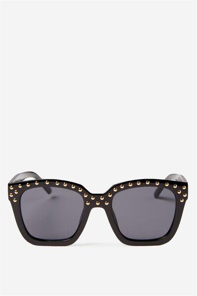 Vegas Sunglasses, BLACK/GOLD