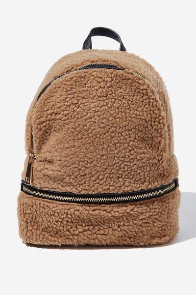 Lola Backpack, TEDDY CINNAMON