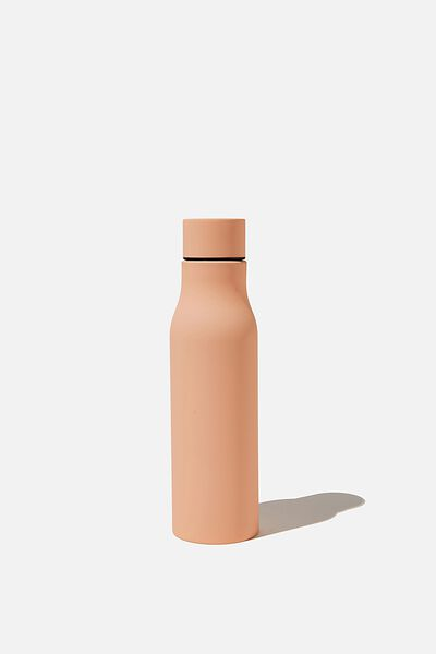 Double Walled Drink Bottle, CORAL