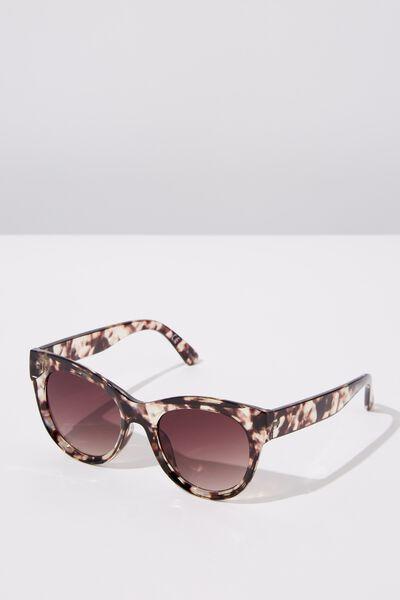 Wendi Cateye Sunglasses, NEUTRAL TORT