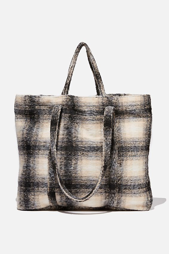 Check Mate Tote, HERITAGE CHECK