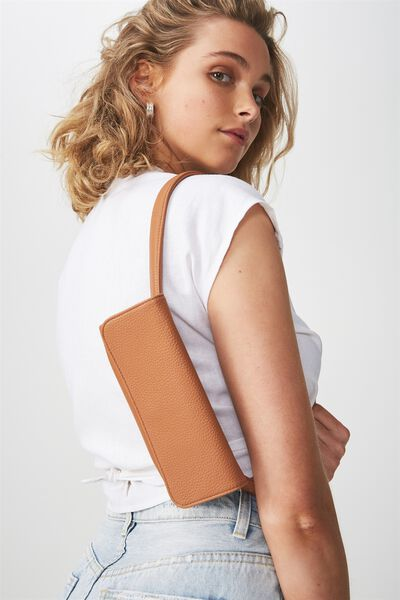 Simple Belt Bag, TAN