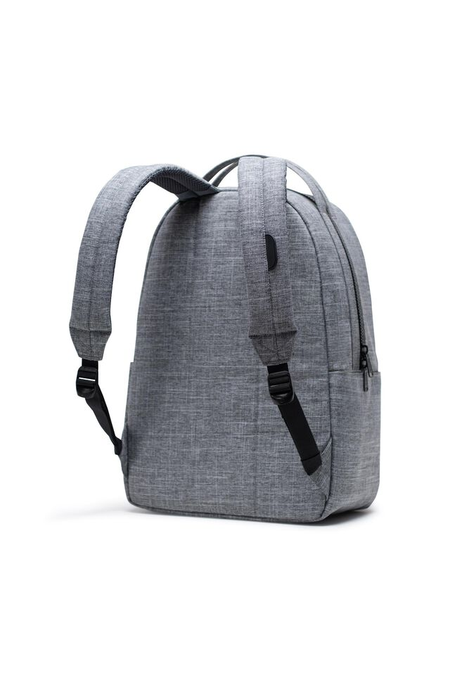 Herschel Miller Backpack, RAVEN CROSSHATCH