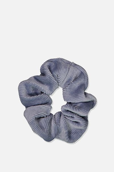 So Me Scrunchie, CHAMBRAY MINI CORD