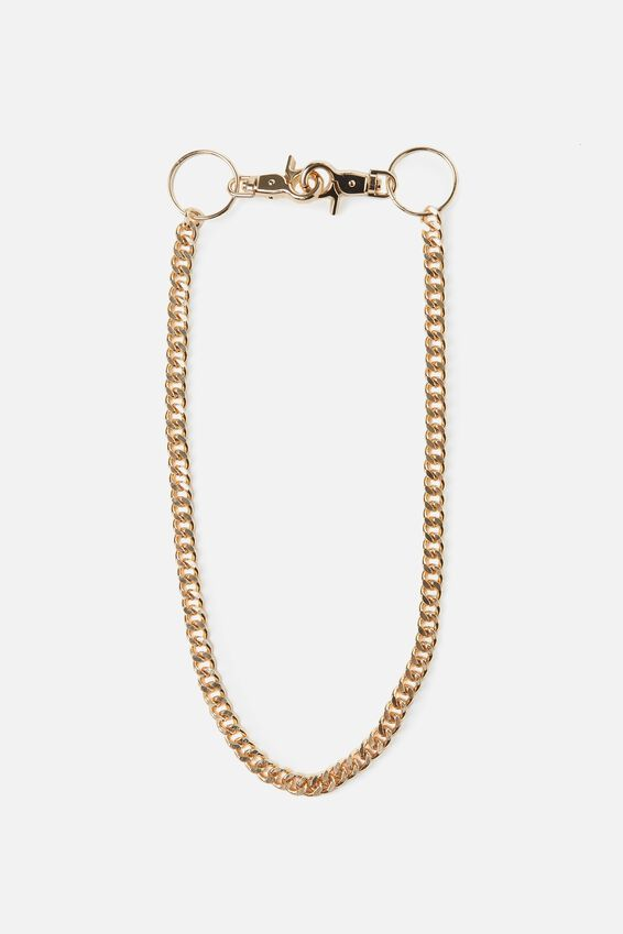 Wallet Chain Single, GOLD