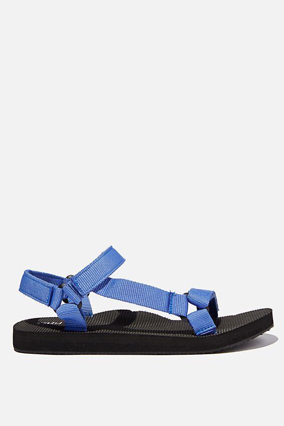 Stormy Sporty Sandal, BLUE