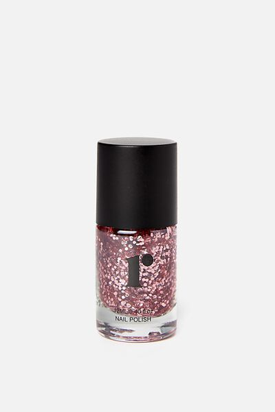Nail Polish, ROSE GOLD GLITTER