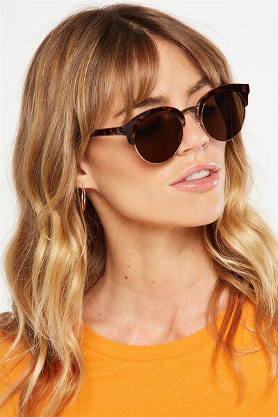 Freya Sunglasses, TORT