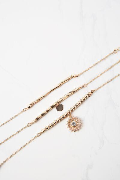 Valetta Bracelet, GOLD
