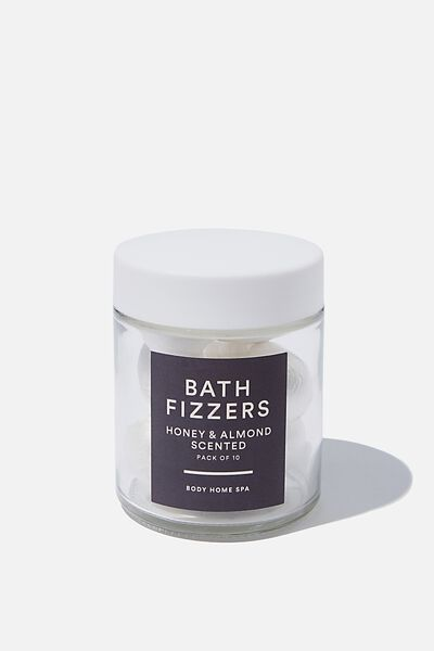 Bath Fizzer Tub, CHARCOAL