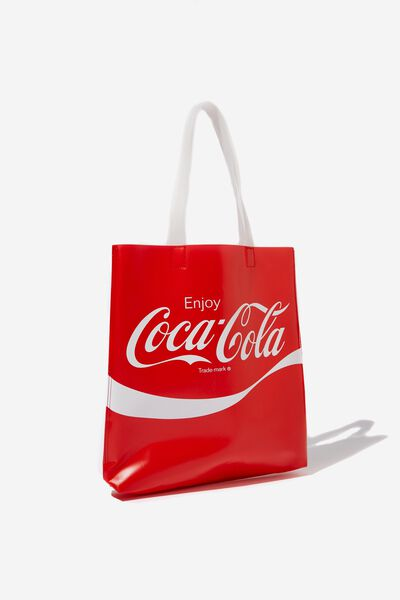 Tinted Tote, LCN COKE RED