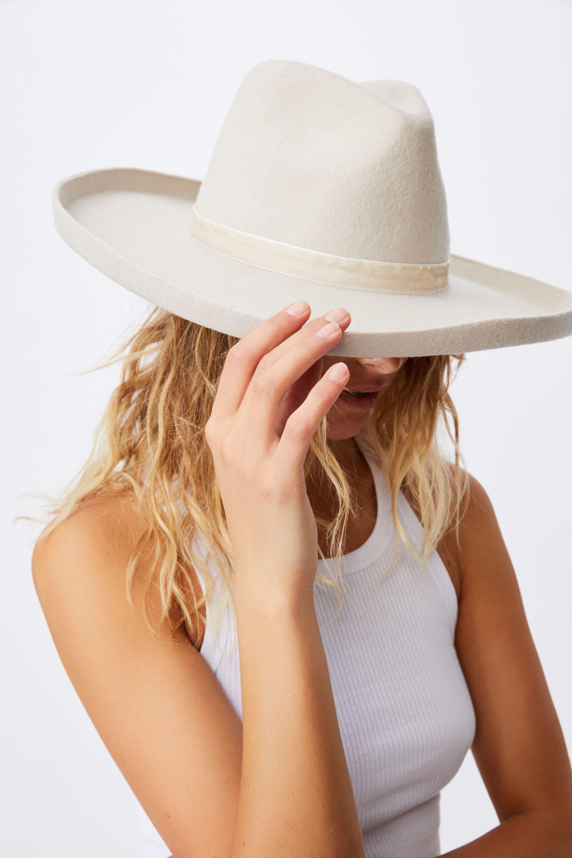 Andie Flipped Brim Rancher | Cotton On