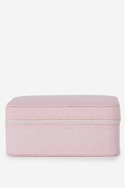 Medium Jewellery Box, PARFAIT PINK