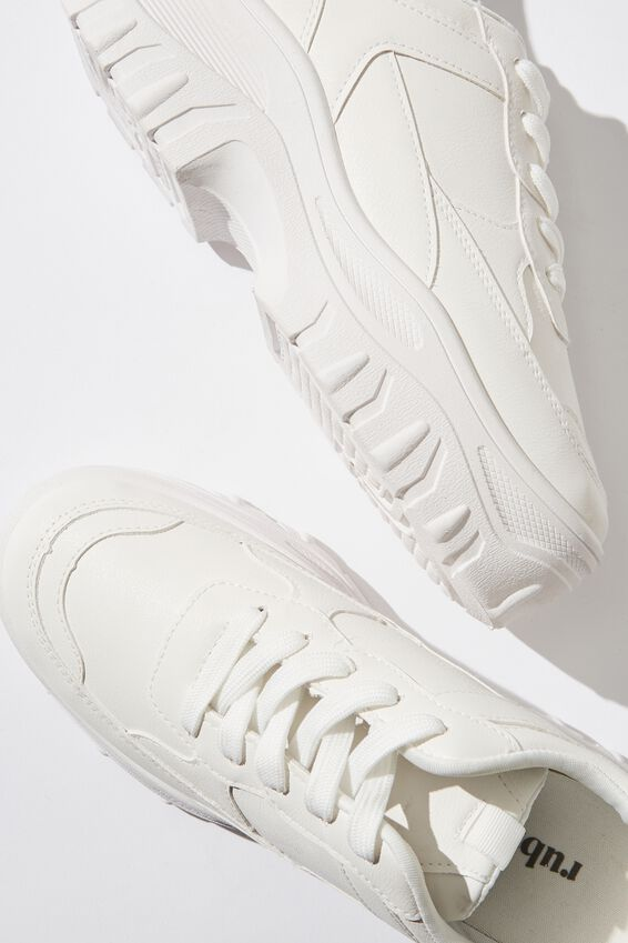 Darcey Extra Chunky Sneaker, WHITE