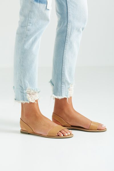 Everyday Simple Slingback, CAMEL