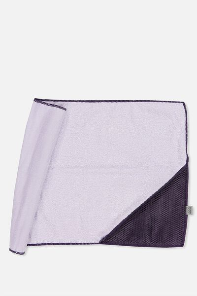 Active Zip Towel, ICY LILAC