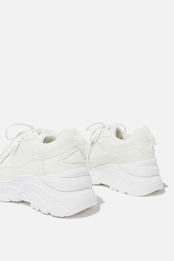 Blaze Chunky Sneaker, WHITE MULTI