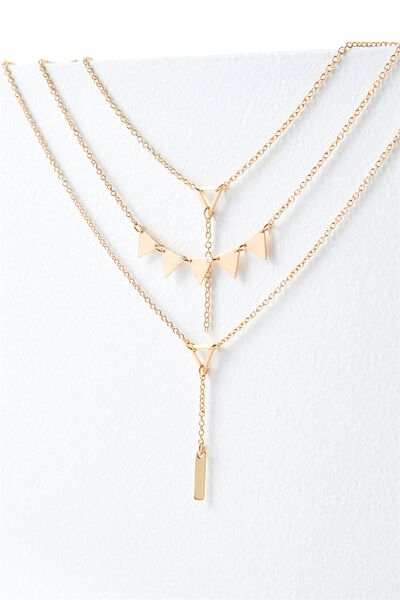 Siena Necklace, GOLD