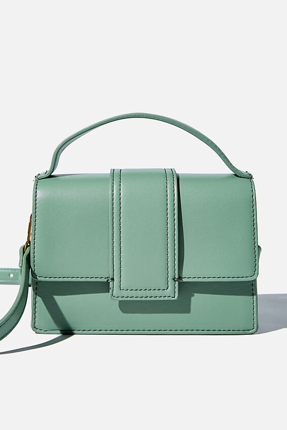 Cindy Cross Body Bag, PISTACHIO GREEN