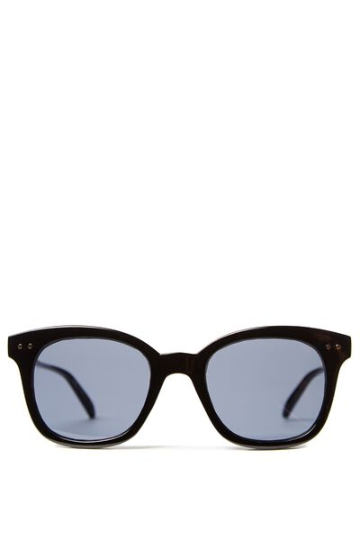 Kendra Full Frame Sunglasses, BLACK