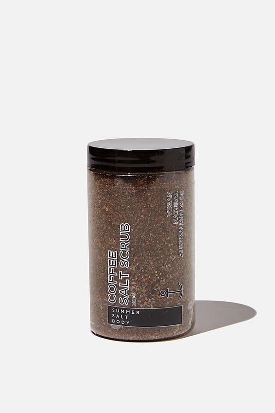 Summer Salt Body Scrub, COFFEE