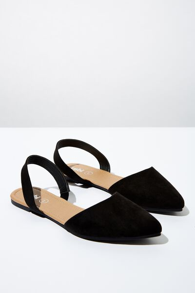Simone Slingback Point, BLACK MICRO