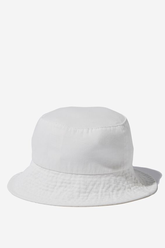 Bianca Bucket Hat, ECRU