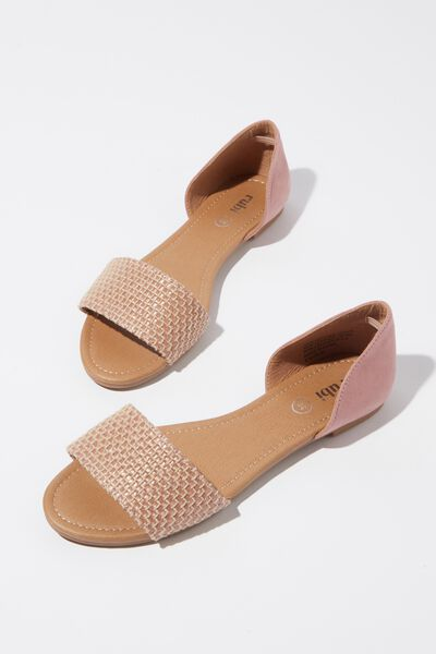 Dixie Peep, ASH ROSE/MULTI RAFFIA